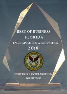 Best Interpreter Florida 2018