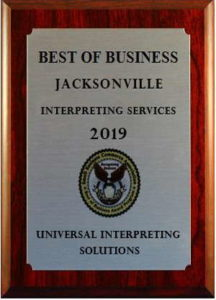 Interpreting Best of Jacksonville 2019